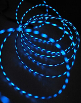 Motion El Wire Blue 9ft