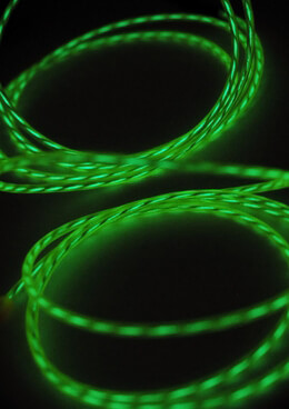 Motion El Wire Green Battery Operated 3.2mm x 9 foot