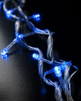 LED String Lights Blue 28ft - 100ct