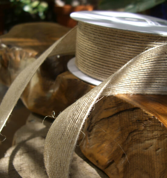 Jute Ribbon 10yds