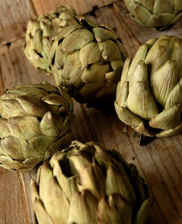 "Natural Preserved & Dried Artichokes (3-4"") 10 artichokes"
