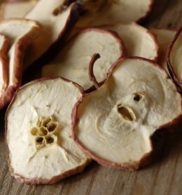 Natural Dried Apple Slices-  Design Materials 20 pieces
