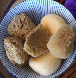 Natural Sponges  and Loofahs