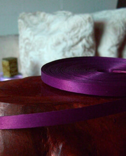 "Natural wood strips 3/8"" x 88.5 feet Purple"