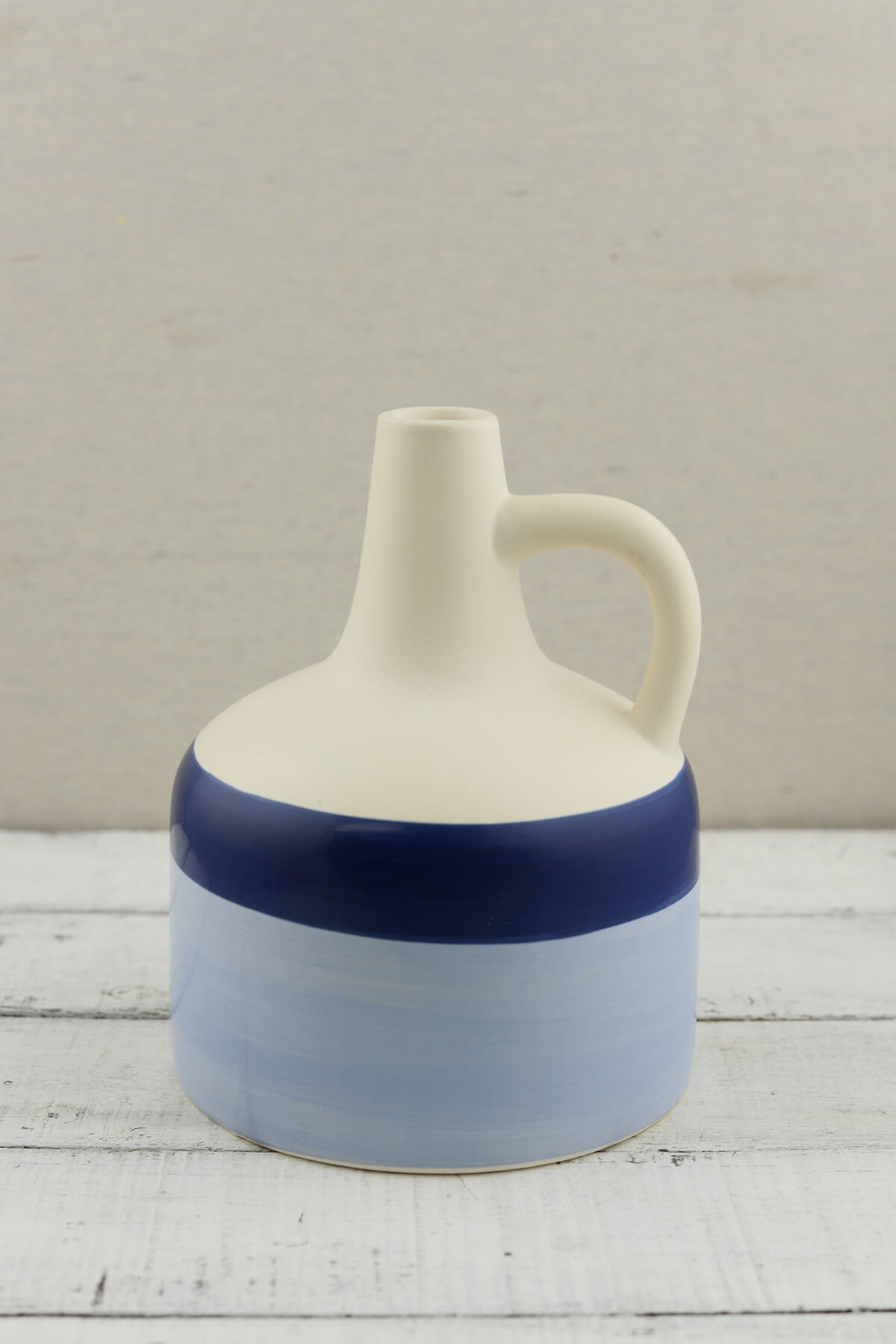 "8"" Coastal Blue Jug"