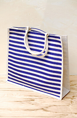 Nautical Wedding Welcome Bag Navy 19x17x6in