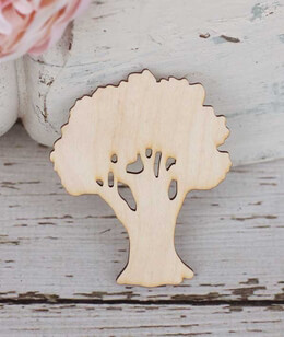 Oak Trees Cut Outs 3in