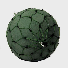 "2 Oasis 6"" Floral Foam Netted Spheres, Fresh Flowers"