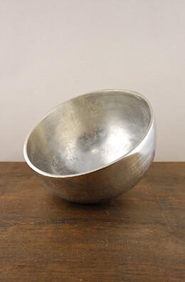 Large Angled Aluminum Umba Bowl