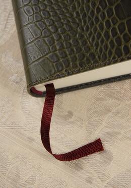 Olive Gigante Leather Journal Cavallini & Co.