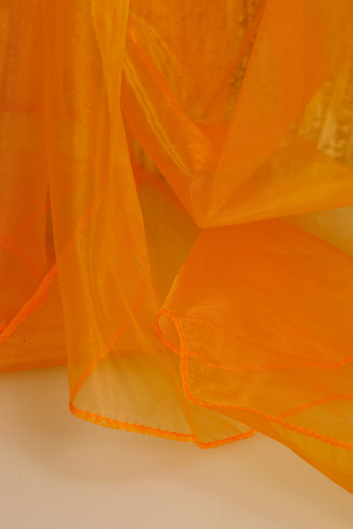 Organza Fabric Iridescent Gold 9ft