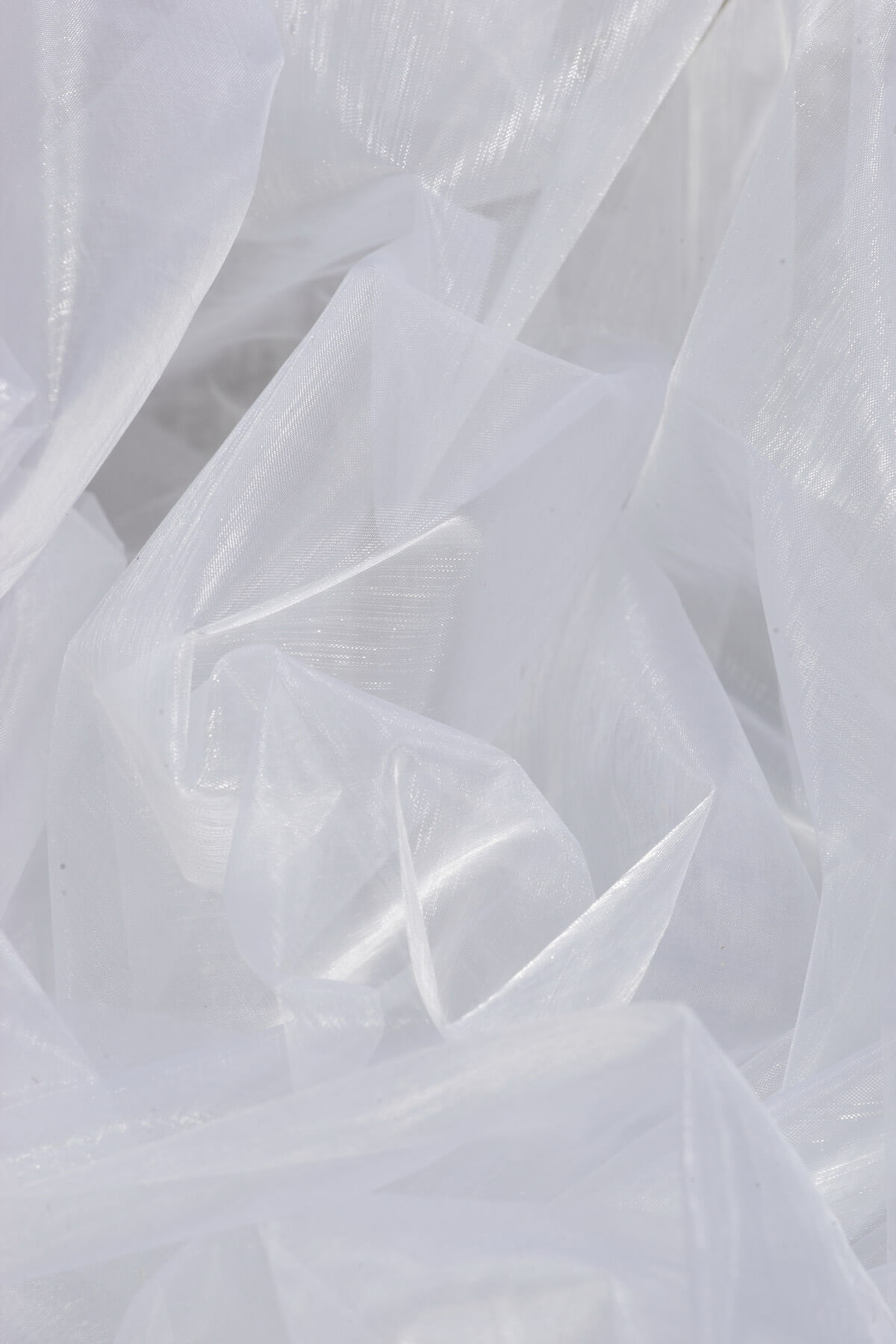 Organza White 5yds