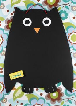 Owl Blackboard 16 x 20 Chalkboard