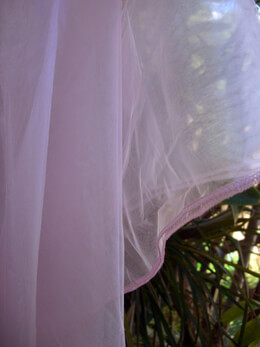 Organza Fabric Pale Pink 9ft