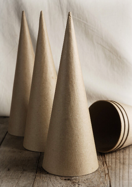 paper cones A paper cone also called a paper cornet, is a simple tool that is essential for cookie and cake decorating it's easy and affordable to make your own, and since it's just made out of paper, it's disposable, so there is no mess to clean up.