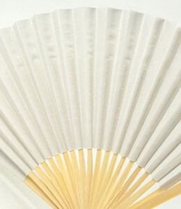 Paper Fans 10in White (Pack of 12)