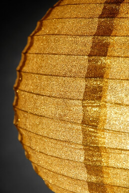 Paper Lantern Gold 12in