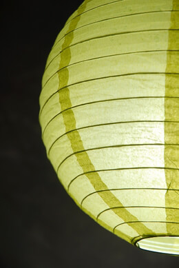 Paper Lantern Chartreuse 12in