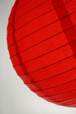 Paper Lantern Red 12in
