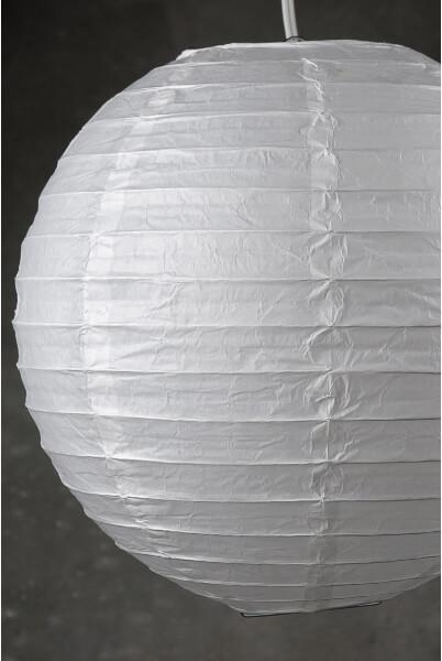 "12"" WHITE Paper Lanterns  (PACK of 10)"