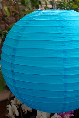 "20"" TURQUOISE BLUE Paper Lanterns"