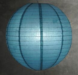 Paper Lantern Slate Blue 20in