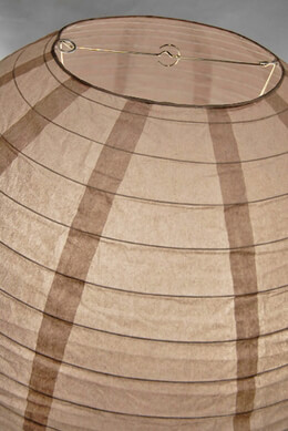 Paper Lanterns 24 in. Brown