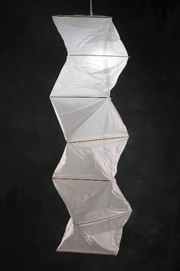 """Paper Lanterns 36"""" Zig-Zag"""