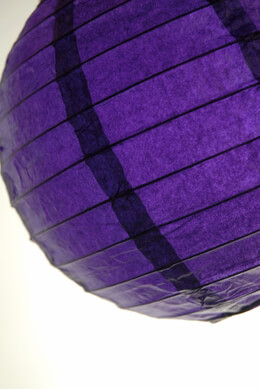 Paper Lantern Purple 8in (Pack of 10)