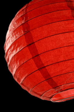 Paper Lantern Red 8in (Pack of 10)