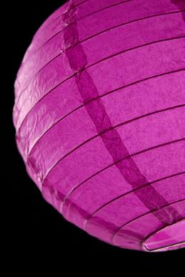 """Paper Lanterns 8"""" Violet Round"""