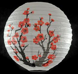 Paper Lantern Cherry Blossom 14in