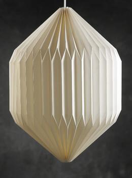 """Paper Lanterns Cosmic Organic 20"""" White"""