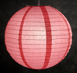 Paper Lanterns Guava (Coral) 16in