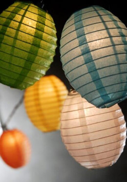 Paper Lanterns, Parasols, Fans
