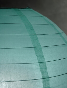 Paper Lantern Robins Egg 24in