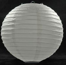 "12"" Paper Lantern WHITE"