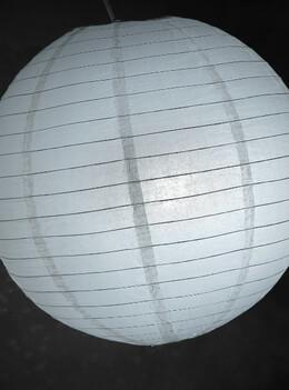 "20"" Paper Lanterns WHITE"