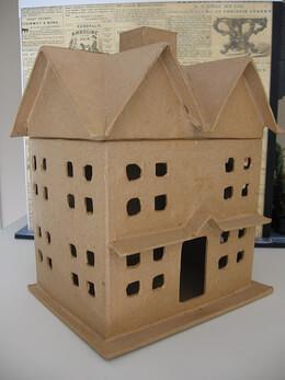 Paper Mache, Houses, Balls,  Boxes