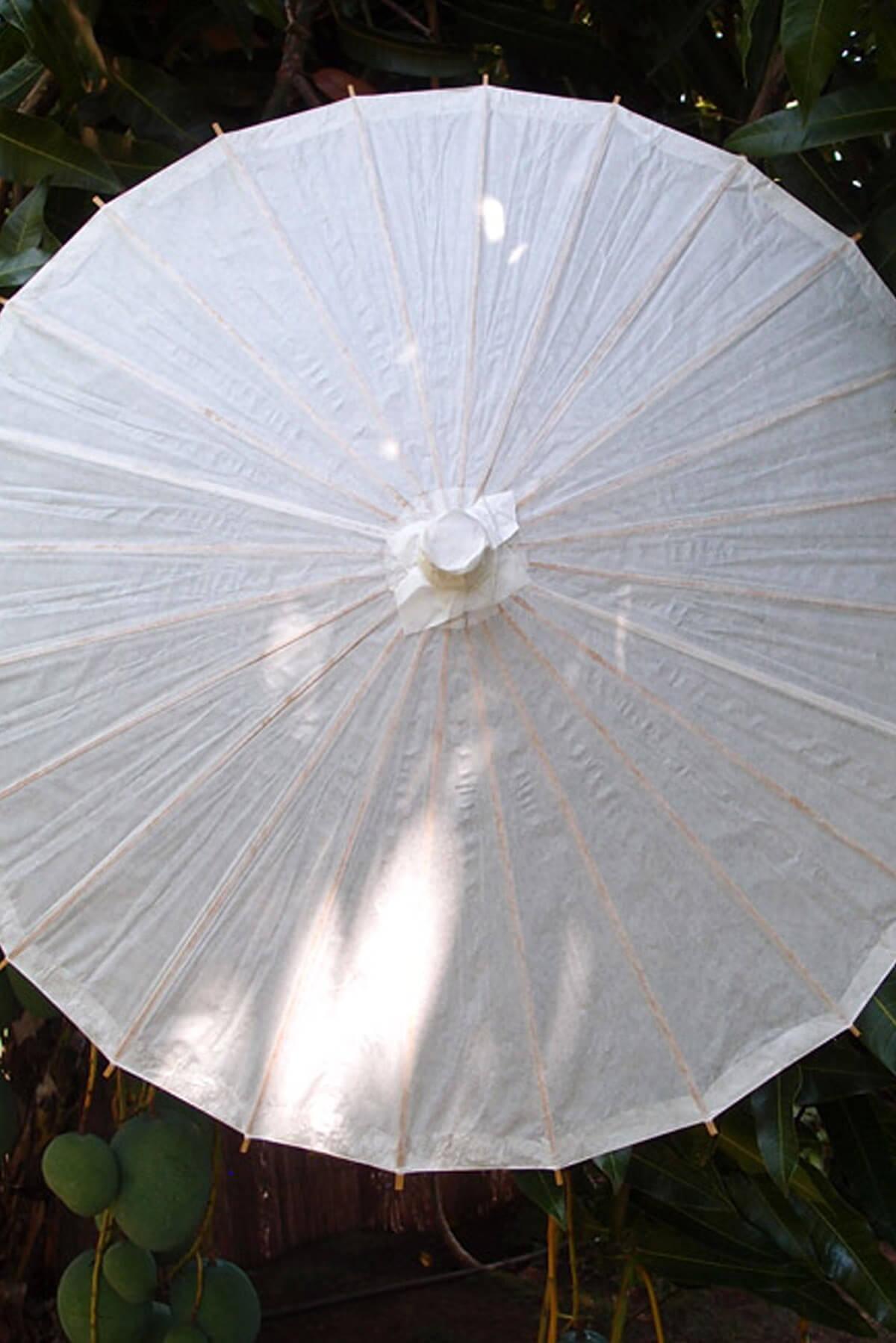 """White Paper Parasol 28"""""""