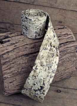 Natural Birch Bark Decorative Paper Ribbon Roll, 2.5 inches x 6 feet