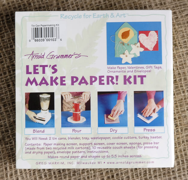 Papermaking Kit Let's Make Paper!