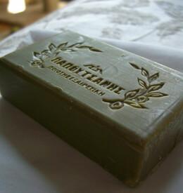 Papoutsanis Pure Greek Olive Oil Soap 125 gram