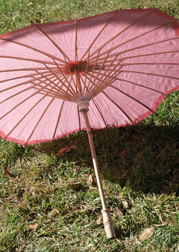 Parasol Pink 32in