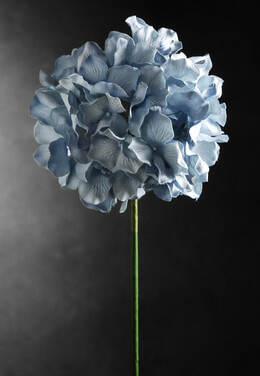 Artificial Hydrangeas Light Blue