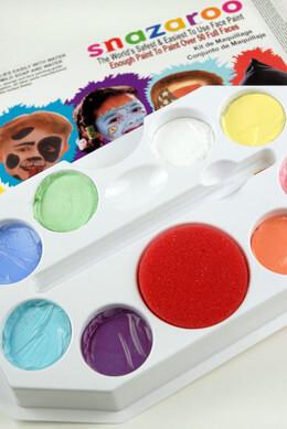 Pastel Pallet Snazaroo Face Painting Pallet