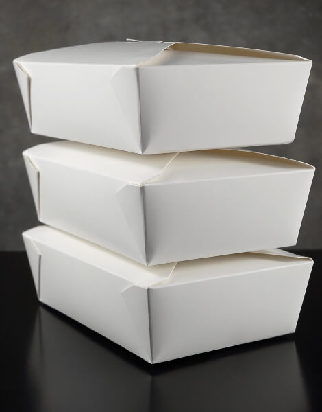 Bakery Boxes White 8in | 50 boxes