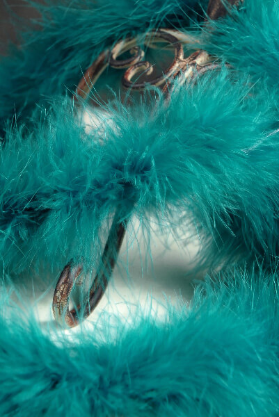 Boa Teal Blue 76in