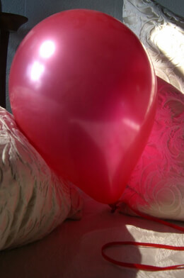 "100 Red 12"" Balloons, Pearl Finish"