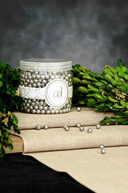 Pearl Vase Filler Small Silver 16oz